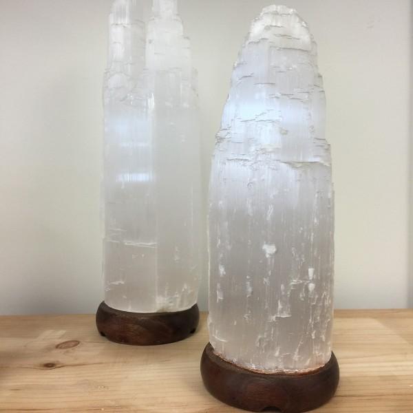 Selenite Lamp Large White 13 Quot