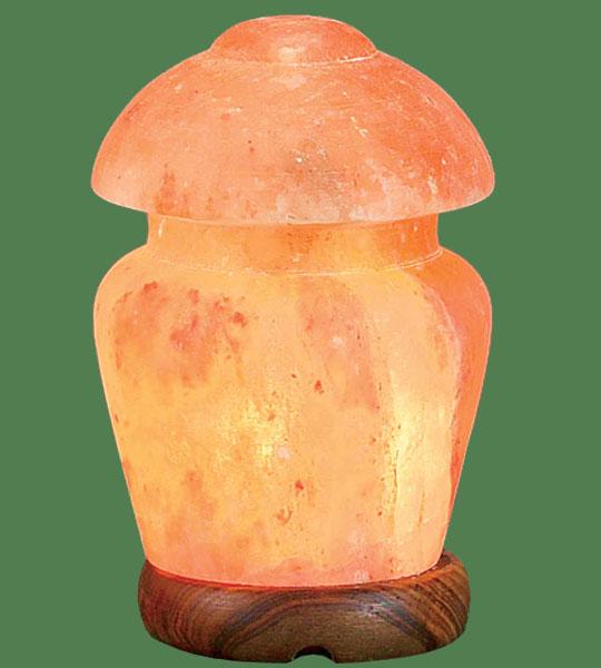 How Himalayan Pink Salt Lamps Work : Himalayan Salt Lamp Shaped Pink Mushroom